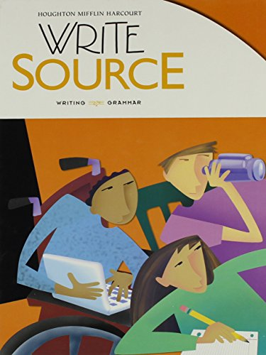 9780547485102: Write Source: Student Edition Hardcover Grade 11 2012