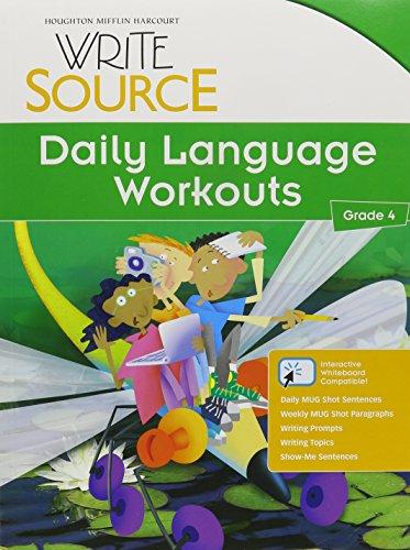 9780547485157: Write Source: Daily Language Workouts Grade 4