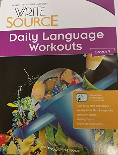 9780547485195: Write Source: Daily Language Workouts Grade 7