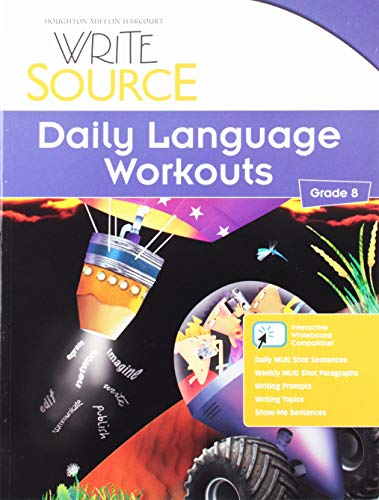 9780547485201: Write Source: Daily Language Workouts Grade 8