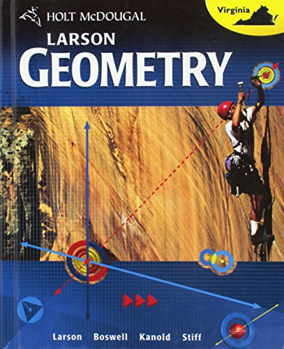9780547485515: Holt McDougal Larson Geometry: Student Edition Geometry 2012