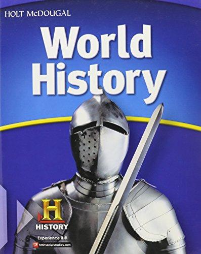 9780547485805: Holt McDougal World History (McDougal Littell Middle School World History)