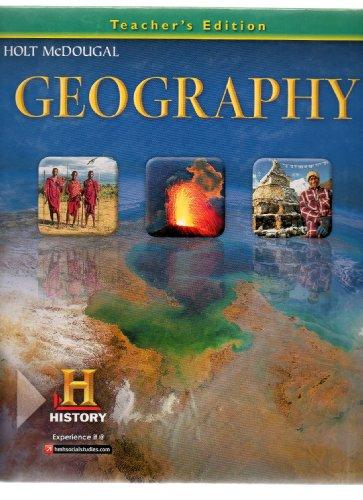 Geography, Teacher's Edition: Arreola