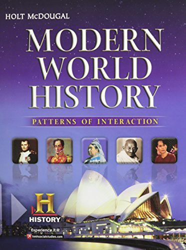 9780547491141: Modern World History: Patterns of Interaction: Student Edition 2012