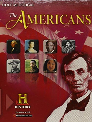 HTMC 12 AMERICANS: HOLT MCDOUGAL