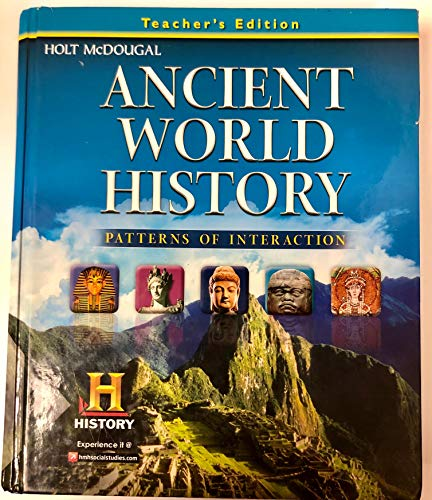 9780547491318: Ancient World History: Patterns of Interaction: Teacher Edition 2012