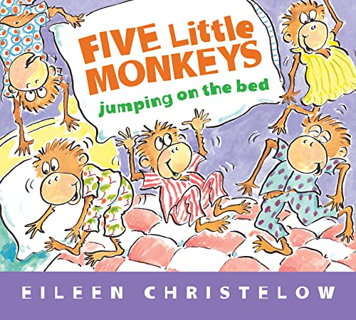 9780547510750: Five Little Monkeys Jumping on the Bed (Padded Board Book) (A Five Little Monkeys Story)
