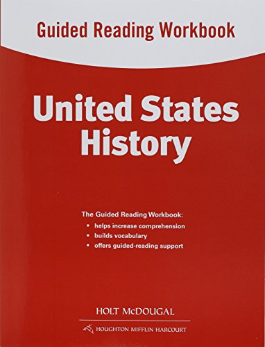 9780547512990: United States History: Guided Reading Workbook Survey