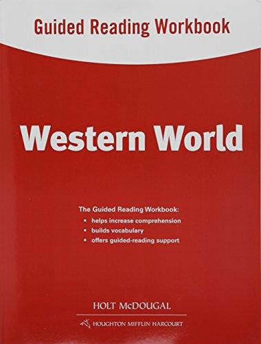 9780547513102: World Geography: Guided Reading Workbook Western World