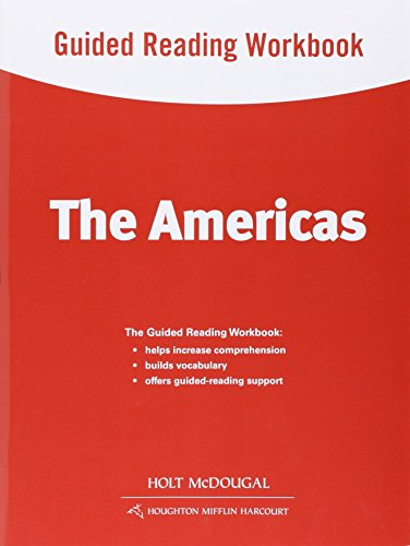 9780547513133: World Regions: The Americas: Guided Reading Workbook