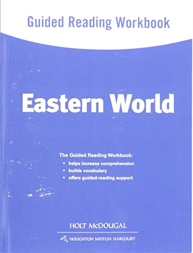 9780547513195: World Geography: Guided Reading Workbook Eastern World