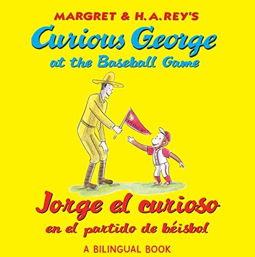 9780547515007: Jorge El Curioso En El Partido de Beisbo/Curious George at the Baseball Game (Bilingual Edition) (Curious George 8x8)