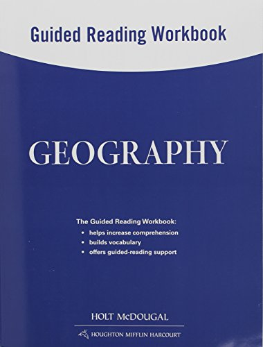 9780547519517: Geography: Guided Reading Workbook
