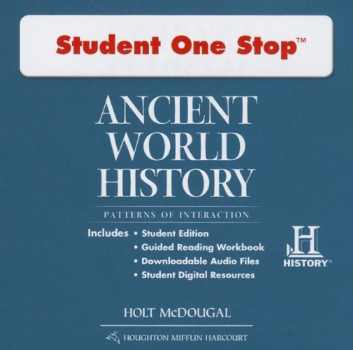9780547520803: Ancient World History: Patterns of Interaction (Student One Stop)
