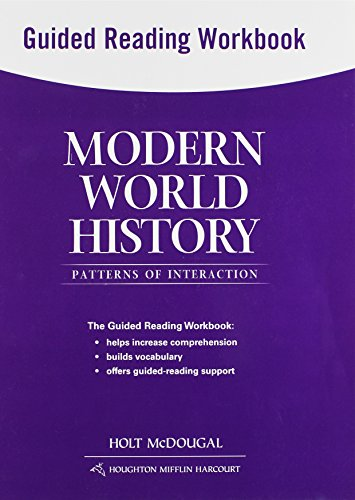 9780547520827: Modern World History: Patterns of Interaction: Guided Reading Workbook
