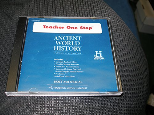 9780547520889: Ancient World History: Patterns of Interaction: Teacher One Stop DVD-ROM