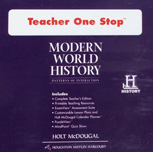 9780547520896: Modern World History: Patterns of Interaction: Teacher One Stop DVD-ROM