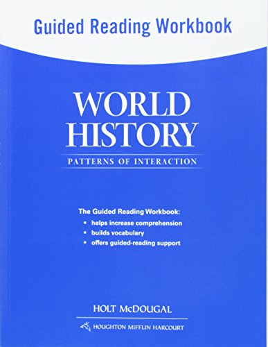 9780547520964: World History: Patterns of Interaction: Guided Reading Workbook Survey