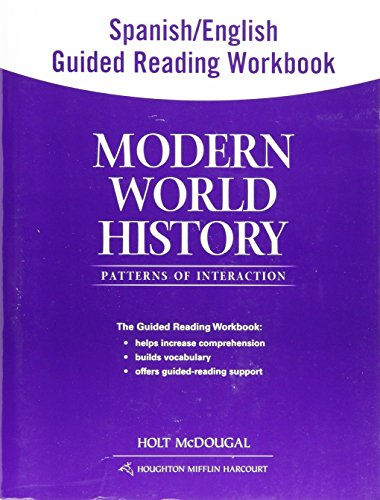9780547521060: Modern World History: Patterns of Interaction: Spanish/English Guided Reading Workbook