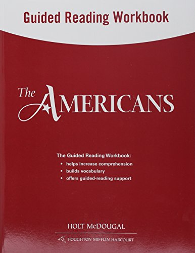 9780547521350: The Americans: Guided Reading Workbook Survey
