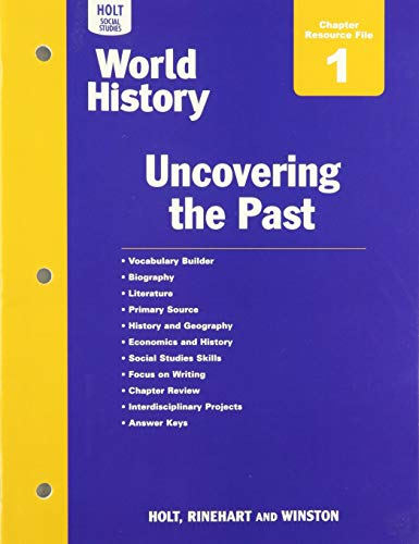 9780547521961: World History: Chapter Resource Files with Answer Key Ancient Civilizations Through the Renaissance