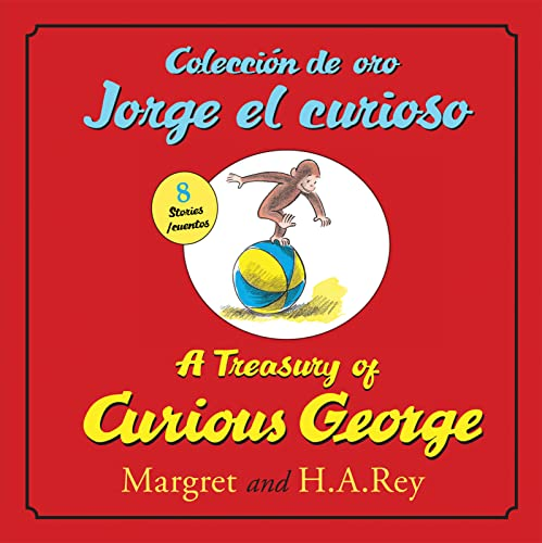 9780547523101: Coleccion de Oro Jorge El Curioso/A Treasury of Curious George (Bilingual Edition)