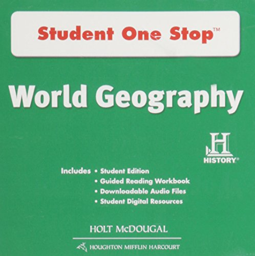 9780547535449: World Geography: Student One Stop CD-ROM Survey 2012 (Spanish Edition)