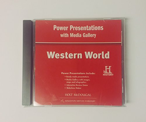 9780547535609: World Geography: Power Presentations with Media Gallery DVD-ROM Western World (Spanish Edition)