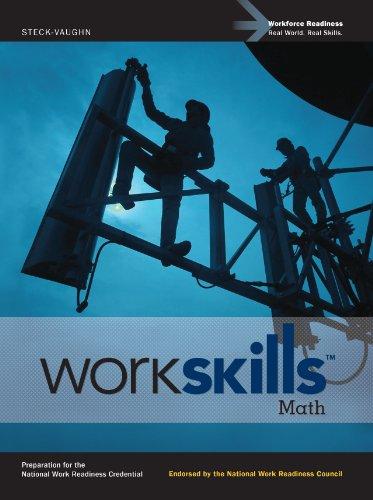9780547536453: Steck-Vaughn WorkSkills: Student Edition Math 2012