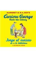 9780547550749: Jorge el curioso va a la biblioteca/Curious George Visits the Library (bilingual edition) (Spanish and English Edition)