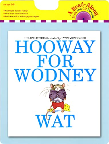 9780547552170: Hooway for Wodney Wat book and CD