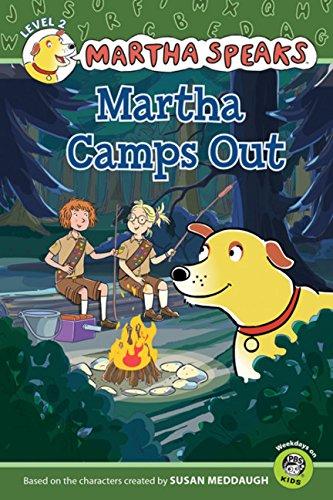 9780547556185: Martha Speaks: Martha Camps Out (Reader)