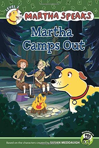 9780547556192: Martha Speaks: Martha Camps Out (Reader)