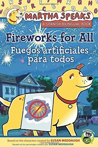 9780547556208: Martha habla: Fuegos artificiales para todos/Martha Speaks: Fireworks for All! (Bilingual Reader) (Spanish and English Edition)