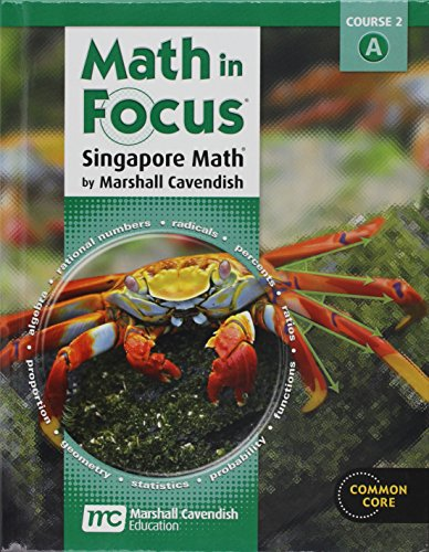 9780547560076: Math in Focus: Singapore Math, Student Edition Grade 7 Volume A