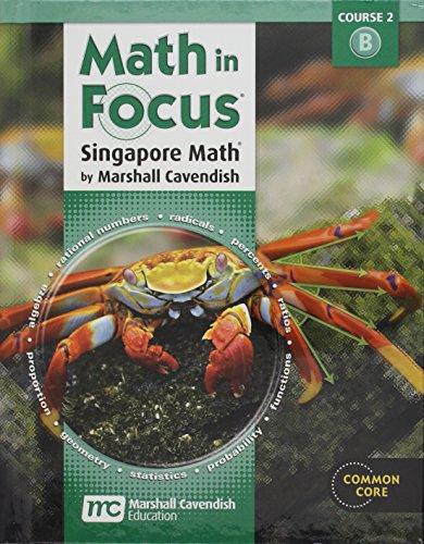 9780547560106: Math in Focus: Singapore Math Student Edition Grade 7 Volume B