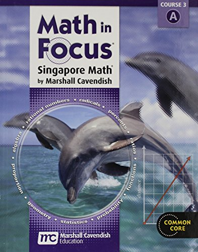 9780547560113: Math in Focus: Singapore Math Volume a Grade 8