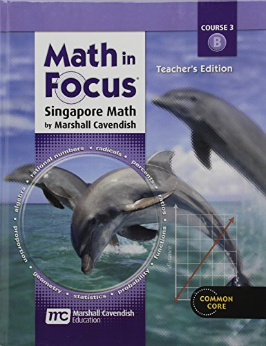 9780547560984: Math in Focus: Singapore Math: Course 3 Teacher's Edition B