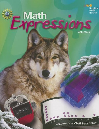 9780547567464: Math Expressions Student Activity Book, Vol. 2