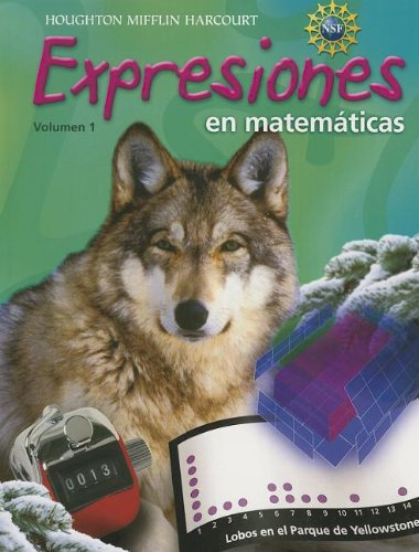 9780547567662: Math Expressions Spanish: Student Activity Book Softcover Volume 1 Grade 6 2012 (Spanish Edition)