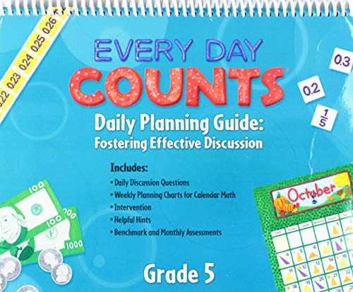 9780547569734: Every Day Counts: Calendar Math: Planning Guide Grade 5