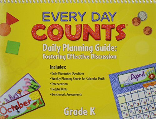 9780547569789: Every Day Counts: Calendar Math: Planning Guide Grade K