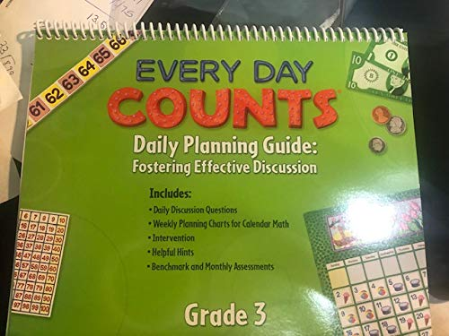 9780547569833: Every Day Counts: Calendar Math: Planning Guide Grade 3