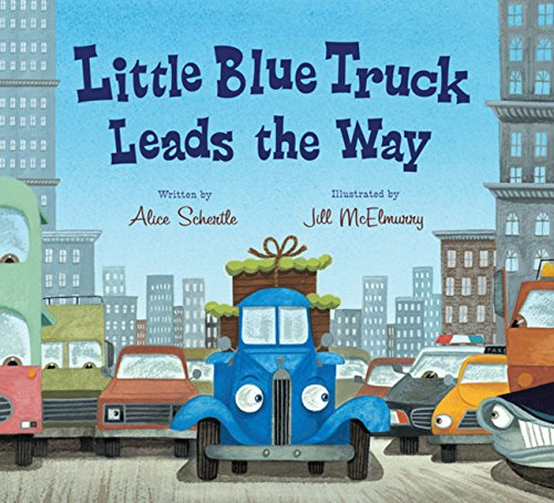 9780547575742: Little Blue Truck Leads the Way board book