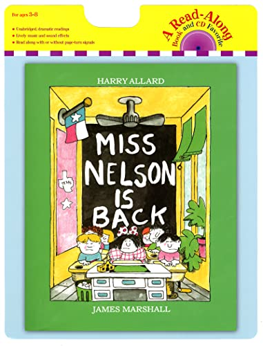 9780547577180: Miss Nelson Is Back book and CD (A Read-Along)