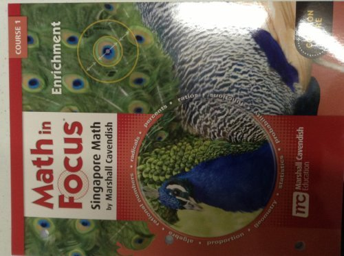 9780547578873: Math in Focus: Singapore Math: Enrichment Course 1