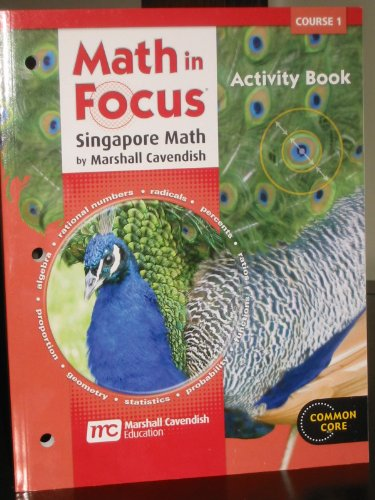 9780547578972: Math in Focus: Singapore Math: Activity Book Course 1