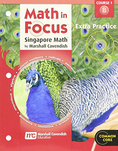 9780547578996: Math in Focus: Singapore Math: Extra Practice, Book B Course 1