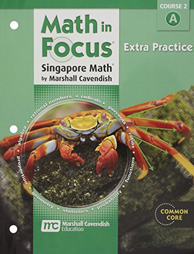 9780547579023: Math in Focus: Singapore Math: Extra Practice, Book a Course 2