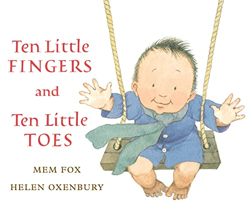 9780547581033: Ten Little Fingers and Ten Little Toes lap board book